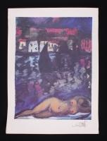 """Salvador Dali """"Nude at Cadeques"""" LE 24"""" x 33"""" Lithograph"""