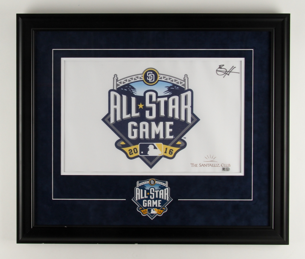 351b80521297 Bryce Harper Signed 2016 All-Star Game 23