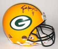 Brett Favre Signed Packers Full-Size Authentic Pro-Line Helmet (Mounted Memories Hologram)