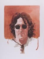 "Joe Petruccio - John Lennon ""Give Peace a Chance"" 18"" x 24"" Giclee on Paper (PA LOA)"