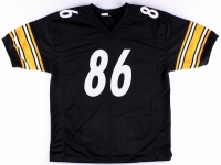 Hines Ward Signed Steelers Career Highlight Stat Jersey (TSE) at PristineAuction.com
