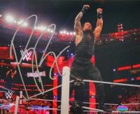 Roman Reigns Signed WWE 8x10 Photo (SI COA)