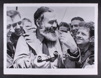 """The Hulton Archive - Ernest Hemingway """"Papa Hemingway"""" Limited Edition 30"""" x 23"""" Fine Art Giclee on Paper #36/275 DX (PA LOA)"""