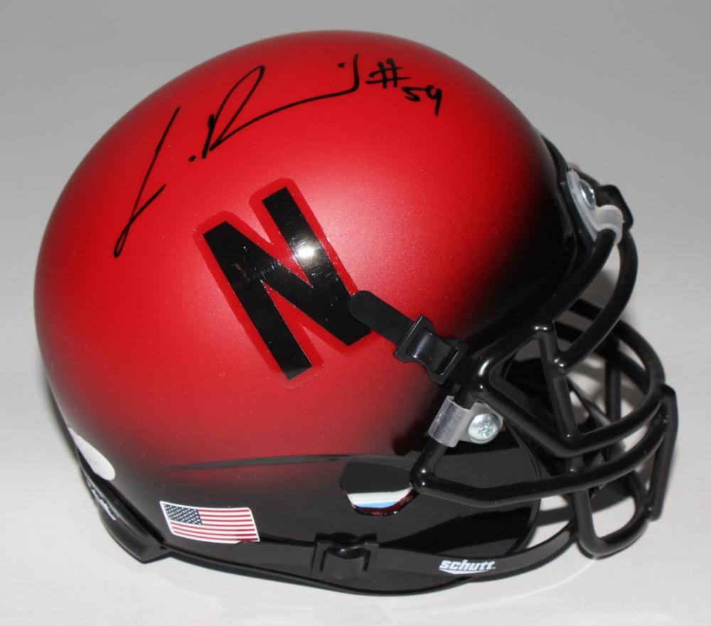 ff5527a0b Lavonte David Signed Nebraska Cornhuskers Matte Red Mini-Helmet (JSA COA)  at PristineAuction