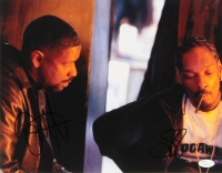 "Denzel Washington & Snoop Dogg Signed ""Training Day"" 11x14 Photo (JSA COA)"