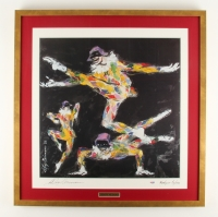 "LeRoy Neiman Signed ""Harlequin Caprice"" 27"" x 28"" Custom Framed Lithograph (PSA COA) at PristineAuction.com"