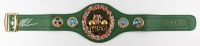 Mike Tyson Signed WBC Heavyweight Championship Belt (JSA COA)