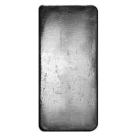 5 oz Bullion .999 Fine Silver Republic Metals Bar (Brilliant Uncirculated) at PristineAuction.com