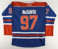 Connor McDavid Signed Oilers Reebok Jersey (JSA ALOA)