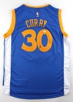 Stephen Curry Signed Warriors Jersey (JSA LOA)