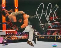 Roman Reigns Signed WWE 8x10 Photo vs Bray Wyatt (SI COA)