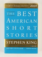 "Stephen King Signed ""The Best American Short Stories"" Softcover Book (JSA COA)"