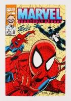 "Stan Lee & John Romita Signed Vintage 1992 ""Spiderman"" Vol. 2 Issue #3 Marvel Comic Book (JSA COA)"