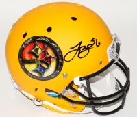 Le'Veon Bell Signed Steelers Custom Matte Yellow Full-Size Helmet (JSA COA)