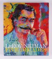 "LeRoy Nieman ""Five Decades"" Hardback Book (JSA COA)"