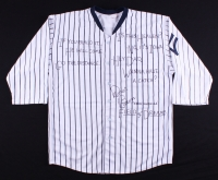 "Dwier Brown Signed ""Field of Dreams"" Yankees Jersey with (6) Inscriptions (JSA COA)"