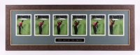 """Tiger Woods """"The Art of the Swing"""" 15.5"""" x 43.5"""" Custom Framed Photo Display"""