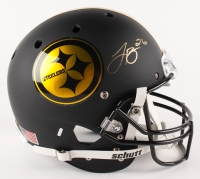 Le'Veon Bell Signed Steelers Custom Matte Black Full-Size Helmet (JSA COA)