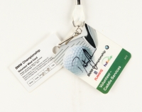 "Dustin Johnson Signed ""BMW Championship"" Volunteer Pass (JSA COA)"