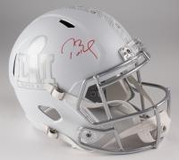 Tom Brady Signed LE Super Bowl 51 Full-Size Custom Matte White ICE Speed Helmet (Tristar Hologram & Steiner COA)