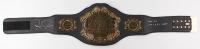"Royce Gracie Signed Full-Size UFC Championship Belt Inscribed ""HOF 03"" & ""UFC 1, 2 & 4 Champ"" (PA COA)"