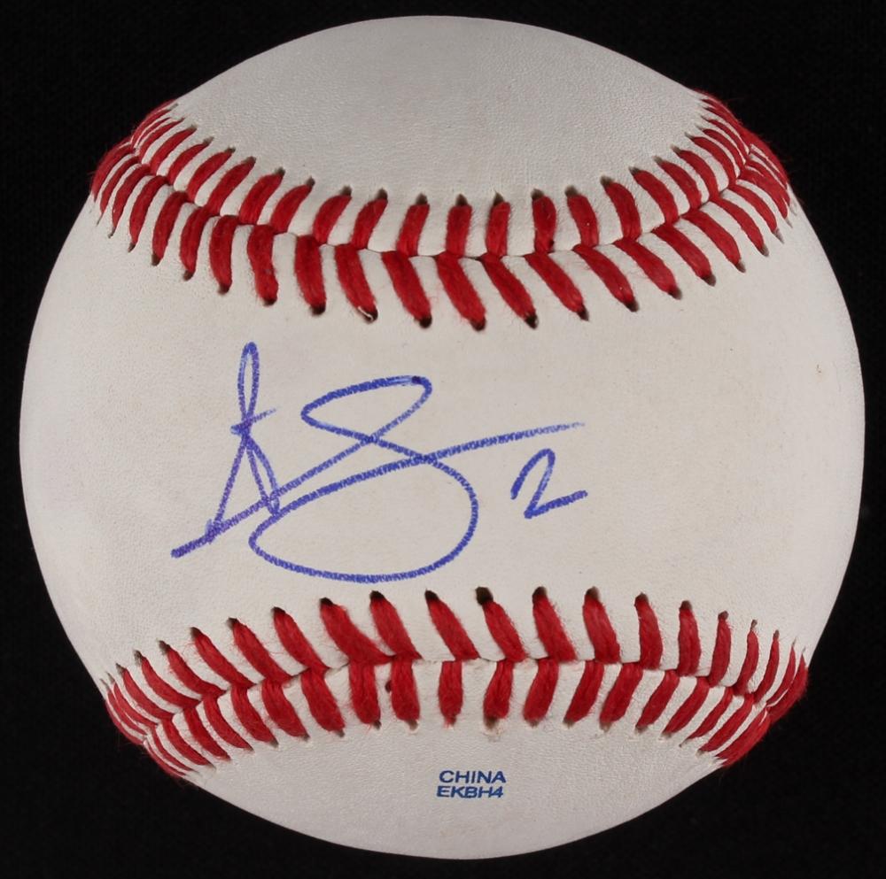 98d08cf7f94 Andrelton Simmons Signed OL Baseball (JSA COA) at PristineAuction.com