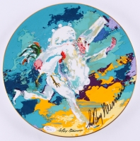 "Leroy Neiman Signed LE ""Royal Doulton"" Ceramic Plate (JSA COA)"