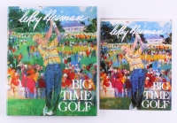 "LeRoy Neiman Signed ""Big Time Golf"" Hardback Book (JSA COA)"