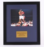 "LeRoy Neiman ""Muhammad Ali"" 16"" x 19"" Custom Framed Photo Display"