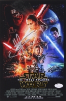 "J.J. Abrams Signed ""Star Wars: The Force Awakens"" 8"" x 12"" Poster Print (JSA COA)"