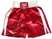 Floyd Mayweather Jr Signed Everlast Boxing Shorts (Beckett COA)