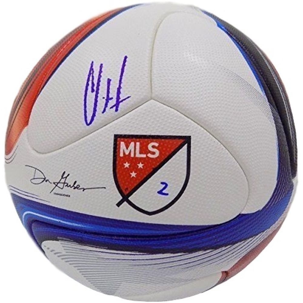 a939874e552 Clint Dempsey Signed 2015 Adidas Nativo Match Soccer Ball (Steiner COA)