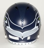 Eddie Lacy Signed Seahawks Full-Size Speed Helmet (Lacy Hologram) at PristineAuction.com