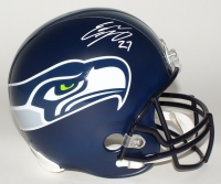 Eddie Lacy Signed Seahawks Full-Size Helmet (Lacy Hologram)