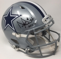 "Dak Prescott Signed LE Cowboys Full-Size Authentic On-Field Speed Helmet Inscribed ""ROTY 16"" (Steiner COA)"