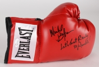 """Michael Buffer Signed Everlast Boxing Glove Inscribed """"Let's Get Ready to Rumble!"""" (JSA COA)"""