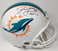 "Jason Taylor Signed LE Dolphins Full-Size Authentic On-Field Helmet Inscribed ""HOF 17"" (Steiner COA)"
