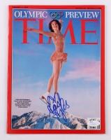 Sarah Hughes Signed 2002 TIME Magazine (JSA COA)