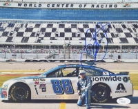 Dale Earnhardt Jr. Signed 8x10 Photo (JSA COA)