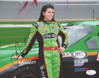 Danica Patrick Signed 8x10 Photo (JSA COA)