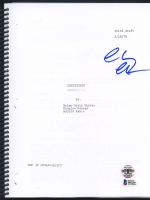 "Chevy Chase Signed ""Caddyshack"" Full Script (Chase Hologram & Beckett Witnessed COA)"