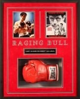 "Robert De Niro Signed ""Raging Bull"" 25x31x4 Custom Framed Boxing Glove Shadowbox Display (JSA LOA)"