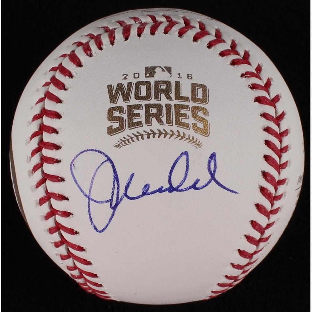 Sports Mem, Cards & Fan Shop Balls Joe Maddon Autographed Signed 2016 World Series Baseball Ball Cubs Jsa Coa