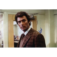 "Clint Eastwood Signed 20"" x 24"" Dirty Harry Canvas (PSA Hologram)"