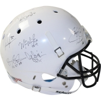 Heisman Trophy Winners Full Size Helmet Signed by (23) with Earl Campbell, Bo Jackson, Mark Ingram, Marcus Mariota (Steiner COA)