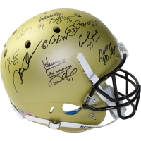 Heisman Trophy Winners Full Size Helmet Signed by (23) with Paul Hornung, Barry Sanders, Mark Ingram (Steiner COA)