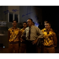 Hoosiers 16x20 Photo Cast-Signed by (8) with Gene Hackman, Brad Boyle, Steve Hollar, Brad Long (Steiner COA)