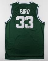 Larry Bird Signed Celtics Jersey (PSA COA and Bird Hologram)
