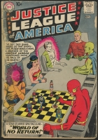 "Original 1960 Justice League of America ""The World of No Return"" Vol. 1 Issue 1 DC Comics Comic Book"
