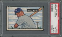 1951 Bowman #253 Mickey Mantle RC (PSA 4) (MK)